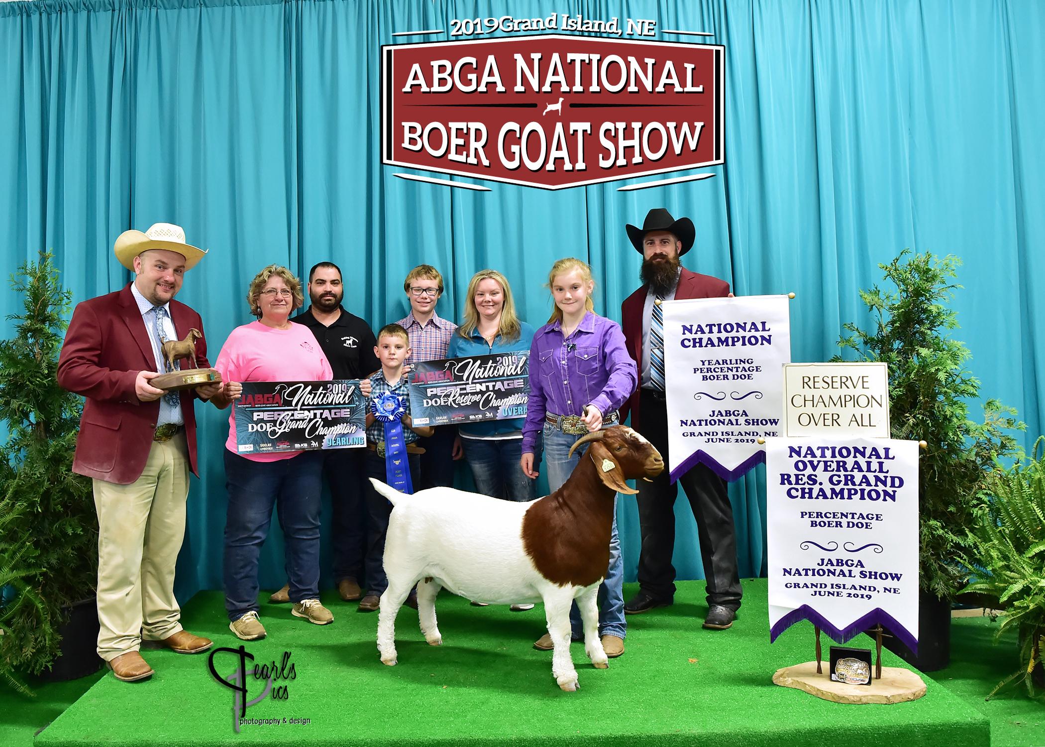ABGA NATIONAL SHOW